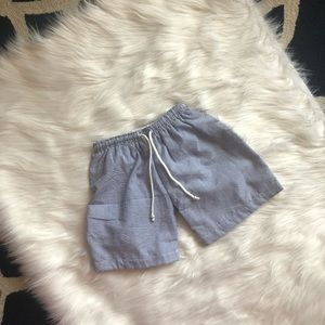Other - Seersucker swimsuit trunks